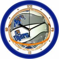 Memphis Tigers Slam Dunk Wall Clock