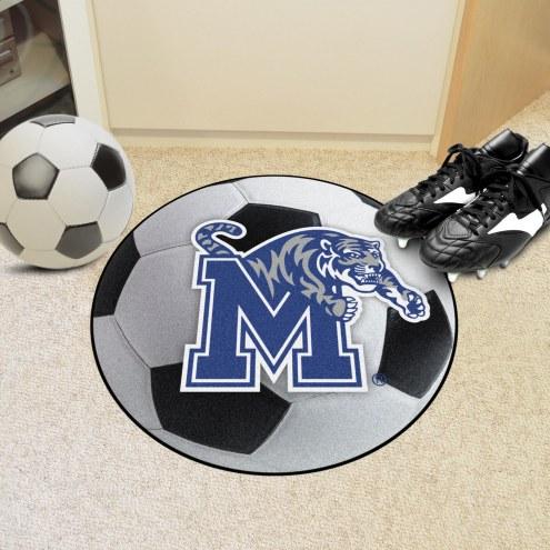 Memphis Tigers Soccer Ball Mat