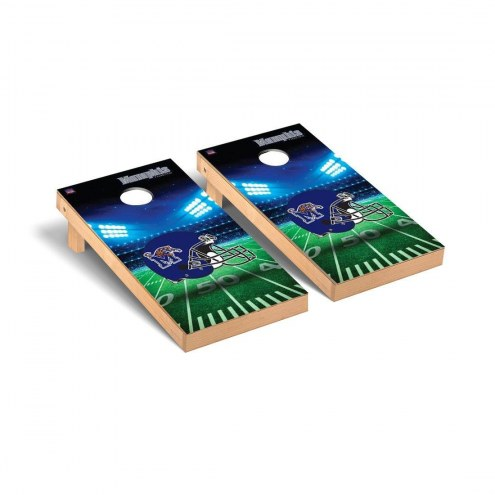 Memphis Tigers Stadium Cornhole Game Set