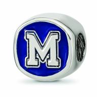 Memphis Tigers Sterling Silver Logo Bead