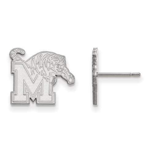 Memphis Tigers Sterling Silver Small Post Earrings
