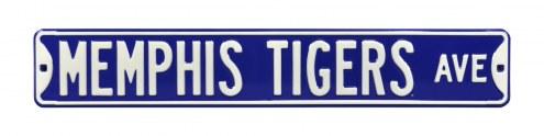 Memphis Tigers Street Sign