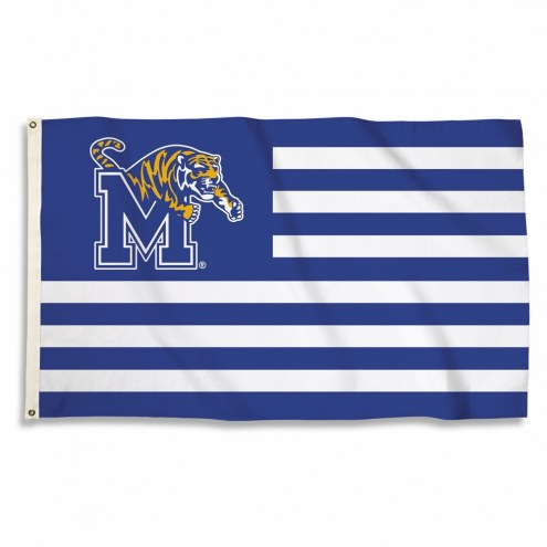 Memphis Tigers Stripes 3' x 5' Flag