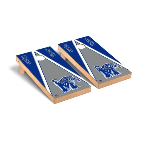 Memphis Tigers Triangle Cornhole Game Set