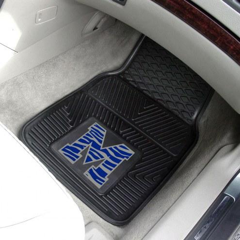 Memphis Tigers Vinyl 2-Piece Car Floor Mats