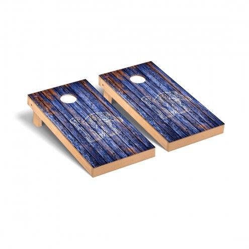 Memphis Tigers Weathered Cornhole Game Set