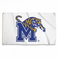 Memphis Tigers White 3' x 5' Flag