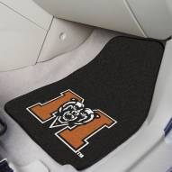Mercer Bears 2-Piece Carpet Car Mats