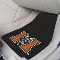 Mercer Bears 2-Piece Carpet Car Mats
