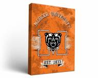 Mercer Bears Banner Canvas Wall Art
