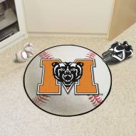Mercer Bears Baseball Rug