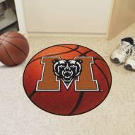 Mercer Bears Basketball Mat