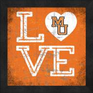 Mercer Bears Love My Team Color Wall Decor