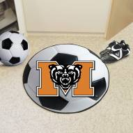 Mercer Bears Soccer Ball Mat