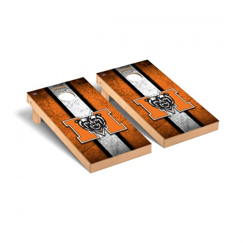 Mercer Bears Vintage Cornhole Game Set