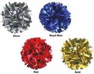 Adult Metallic Color Cheerleading Pom Poms