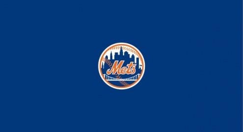 New York Mets MLB Team Logo Billiard Cloth