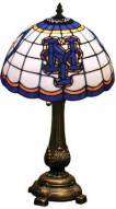 New York Mets MLB Stained Glass Table Lamp