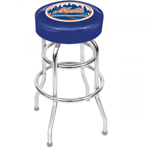 New York Mets MLB Team BAR Stool