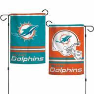 """Miami Dolphins 11"""" x 15"""" Garden Flag"""