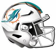 "Miami Dolphins 12"" Helmet Sign"