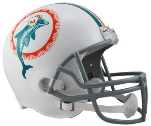 Miami Dolphins 1972 Riddell VSR4 Collectible Full Size Football Helmet
