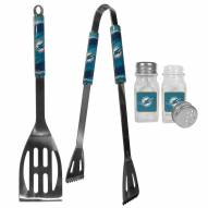 Miami Dolphins 2 Piece BBQ Set with Salt & Pepper Shakers