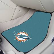 Miami Dolphins 2-Piece Carpet Car Mats