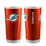 Miami Dolphins 20 oz. Gameday Stainless Tumbler