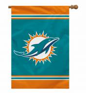 """Miami Dolphins 28"""" x 40"""" Banner"""
