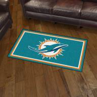Miami Dolphins 3' x 5' Area Rug