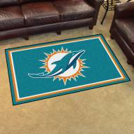 Miami Dolphins 4' x 6' Area Rug