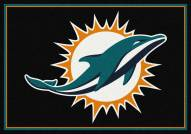 Miami Dolphins 4' x 6' NFL Team Spirit Area Rug