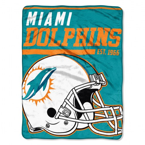 Miami Dolphins 40 Yard Dash Blanket
