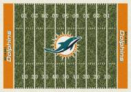 Miami Dolphins 6' x 8' NFL Home Field Area Rug