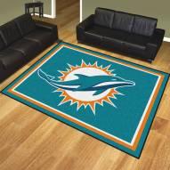 Miami Dolphins 8' x 10' Area Rug