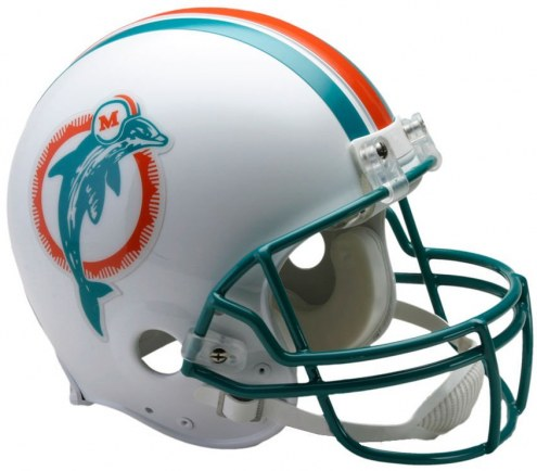Miami Dolphins 80-96 Riddell VSR4 Authentic Full Size Football Helmet
