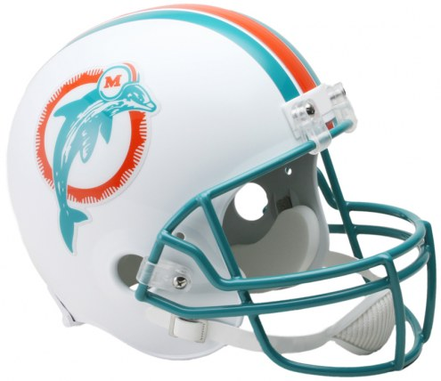 Miami Dolphins 80-96 Riddell VSR4 Collectible Full Size Football Helmet