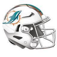 Miami Dolphins Authentic Helmet Cutout Sign
