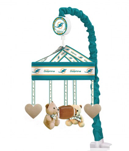Miami Dolphins Baby Crib Musical Mobile