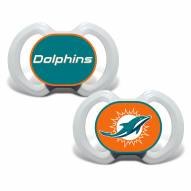 Miami Dolphins Baby Pacifier 2-Pack