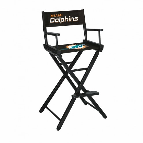 Miami Dolphins Bar Height Director's Chair