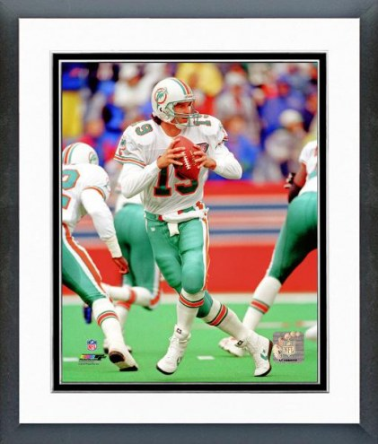 Miami Dolphins Bernie Kosar Action Framed Photo