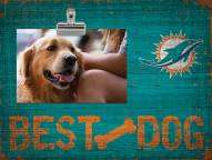 Miami Dolphins Best Dog Clip Frame
