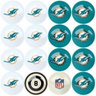 Miami Dolphins Billiard Balls