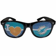 Miami Dolphins Black I Heart Game Day Shades