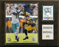 "Miami Dolphins Brandon Marshall 12 x 15"" Player Plaque"