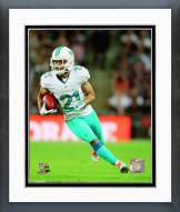 Miami Dolphins Brent Grimes Action Framed Photo