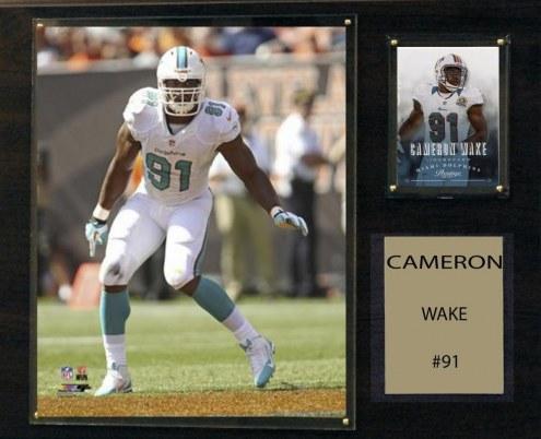 "Miami Dolphins Cameron Wake 12"" x 15"" Player Plaque"