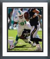 Miami Dolphins Cameron Wake Action Framed Photo